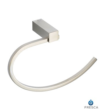 Fresca Ottimo Towel Ring - Brushed Nickel
