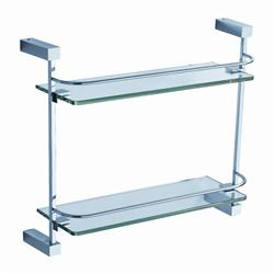 Fresca Ottimo 2 Tier Glass Shelf - Chrome