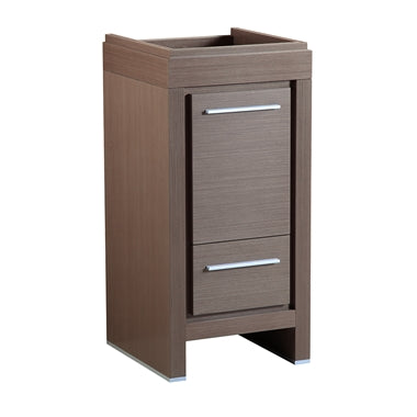 "Fresca Allier 16"" Gray Oak Modern Bathroom Cabinet"