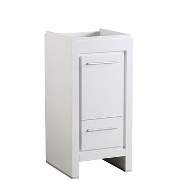"Fresca Allier 16"" White Modern Bathroom Cabinet"