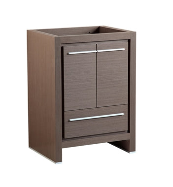 "Fresca Allier 24"" Gray Oak Modern Bathroom Cabinet"
