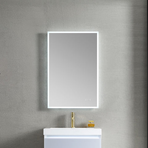 "Beta - 21"" LED Mirror Frosted Sides"