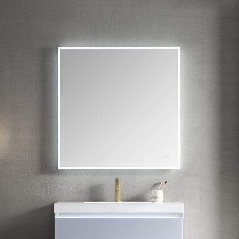 "Beta - 30"" LED Mirror Frosted Sides"