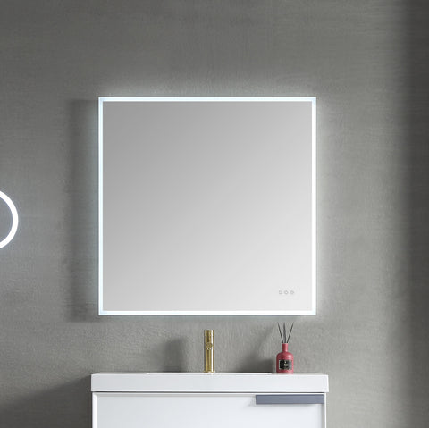 "Beta - 36"" LED Mirror Frosted Sides"