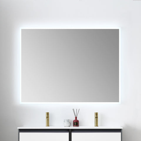 "Beta - 48"" LED Mirror Frosted Sides"
