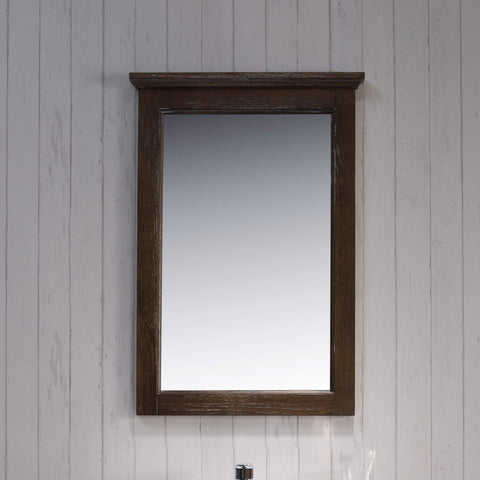 "24"" Mirror - Black Red Oak"