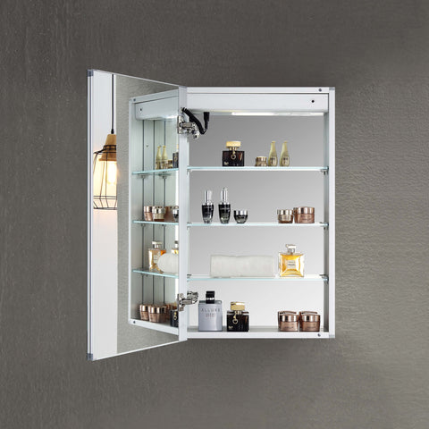 "Asta - 20"" LED Medicine Cabinet Left"