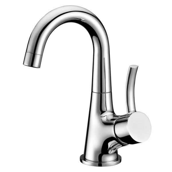 Dawn? Single-lever lavatory faucet, Chrome (Standard pull-up drain with lift rod D90 0010C included)