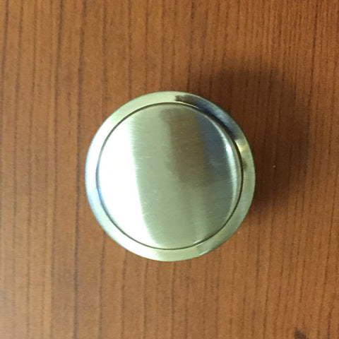 Liberty Ring Cabinet Knob Solid Zinc
