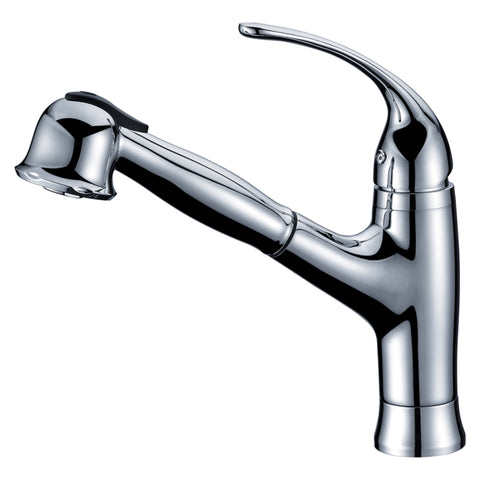 Dawn? Single-lever pull-out spray kitchen faucet, Chrome