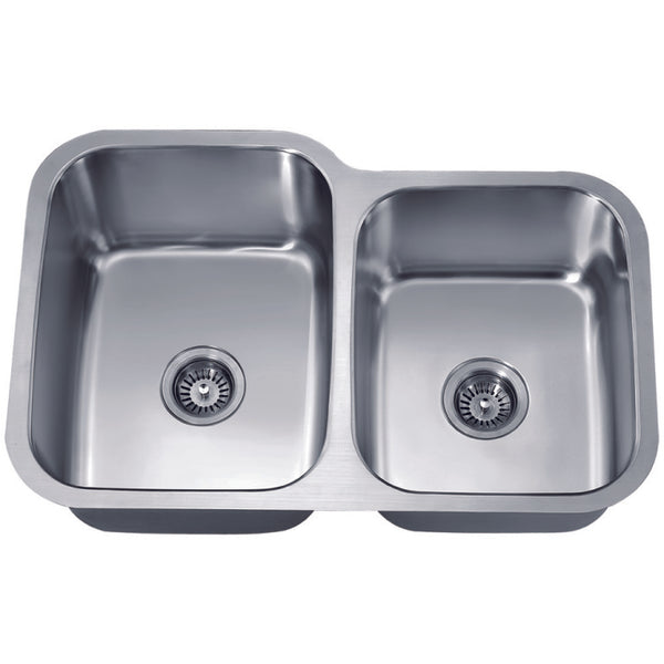 Dawn Undermount Double Bowl Sink (Small Bowl on Right)