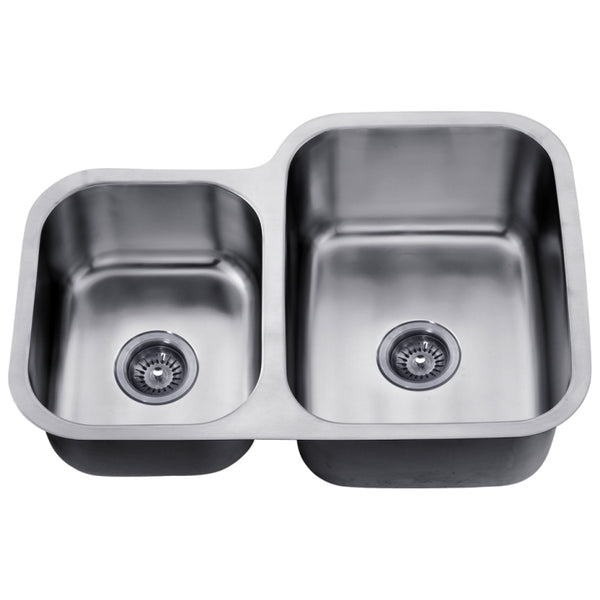 Dawn? Undermount Double Bowl Sink (Small Bowl on Left)
