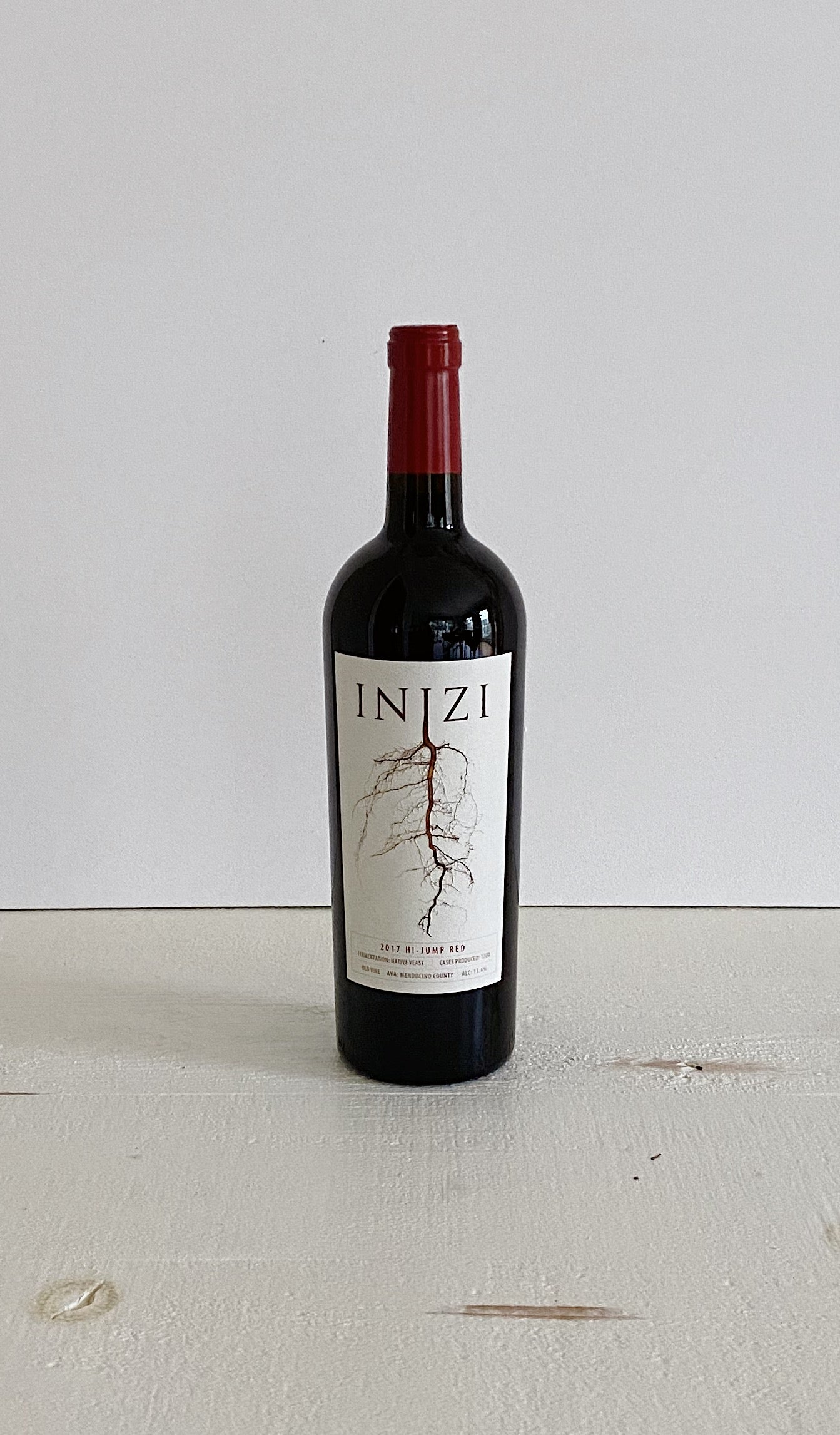 INIZI Red Blend (Montepulciano/Dolcetto blend), Hi-Jump, Mendocino