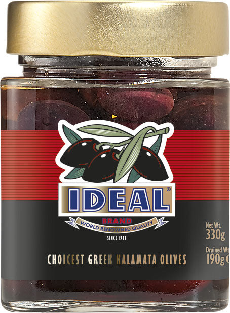 WHOLE KALAMATA OLIVES IN JAR