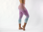 Bright Meditation Capris Full Length