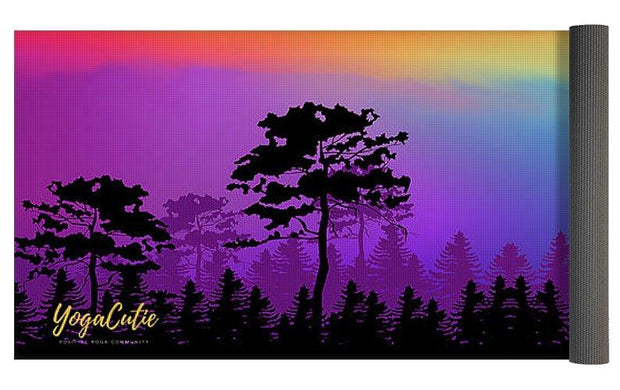 Colorful Tree Of Life Yoga Mat