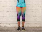 Colorful Tree of Life Capris Outdoors