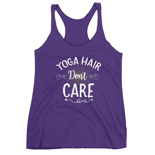Yoga Hair Don't Care Racerback Tank