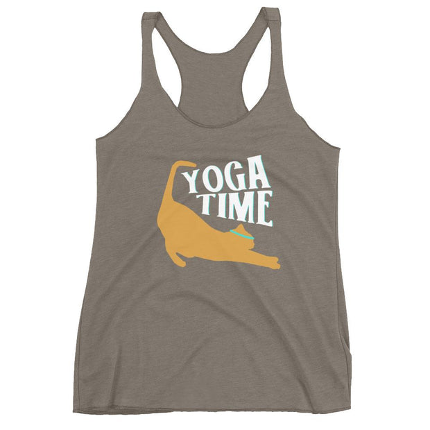 Yoga Time Racerback Tank