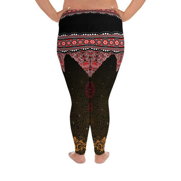 Thai Music Festival Plus Size Leggings