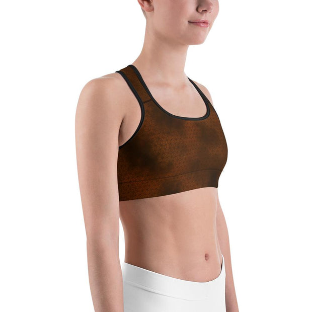 Sacred Geometry Sports Bra