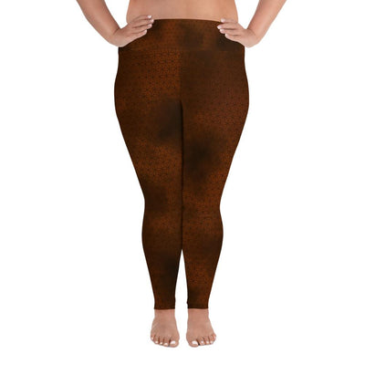 Sacred Geometry Plus Size Leggings