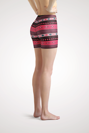 Santa Fe Yoga Shorts Side View