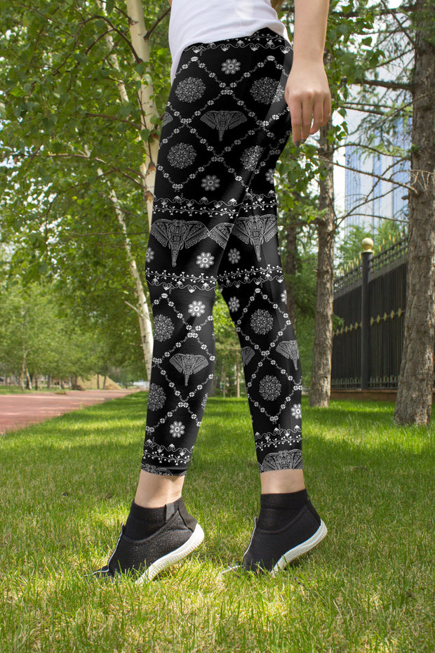 Wild Elephant Yoga Pants Outdoors