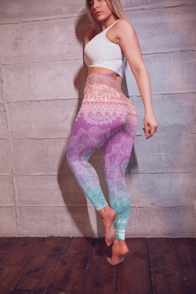 Bright Meditation Yoga Pants