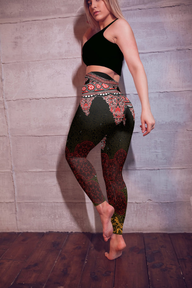 Thai Music Festival Yoga Pants Backside