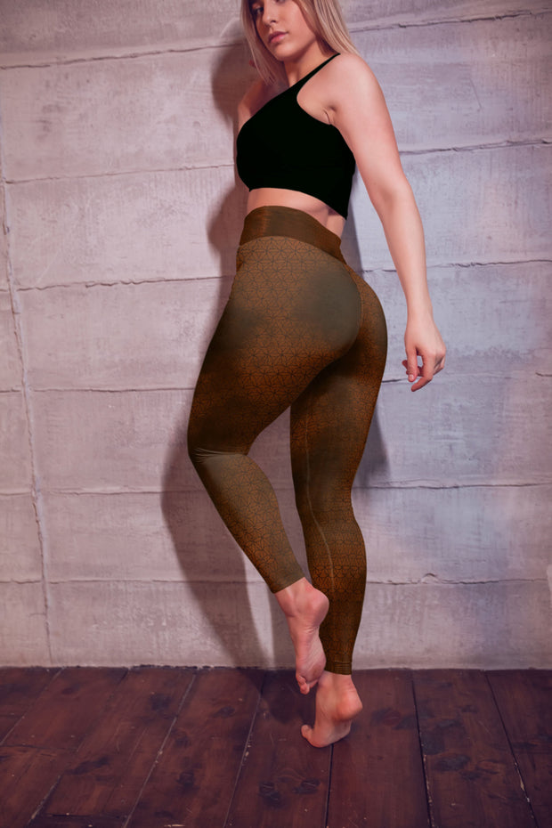 Sacred Geometry Yoga Pants