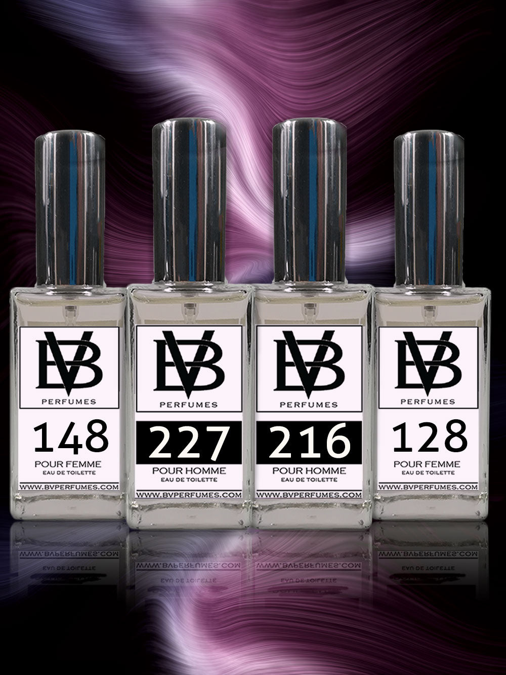 4 x 100ml Perfume Bundle + Free Shipping - BV Perfumes