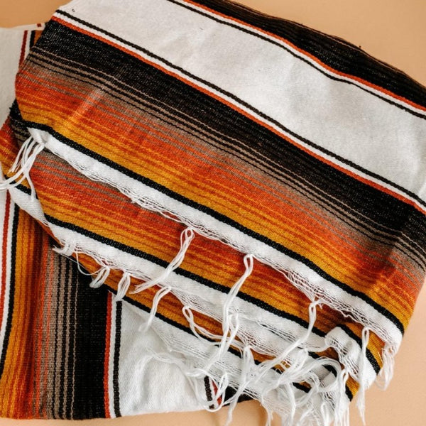 Sunset Serape Blanket