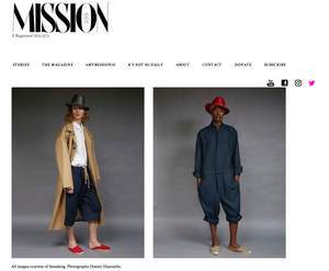 we're featured: mission magazine
