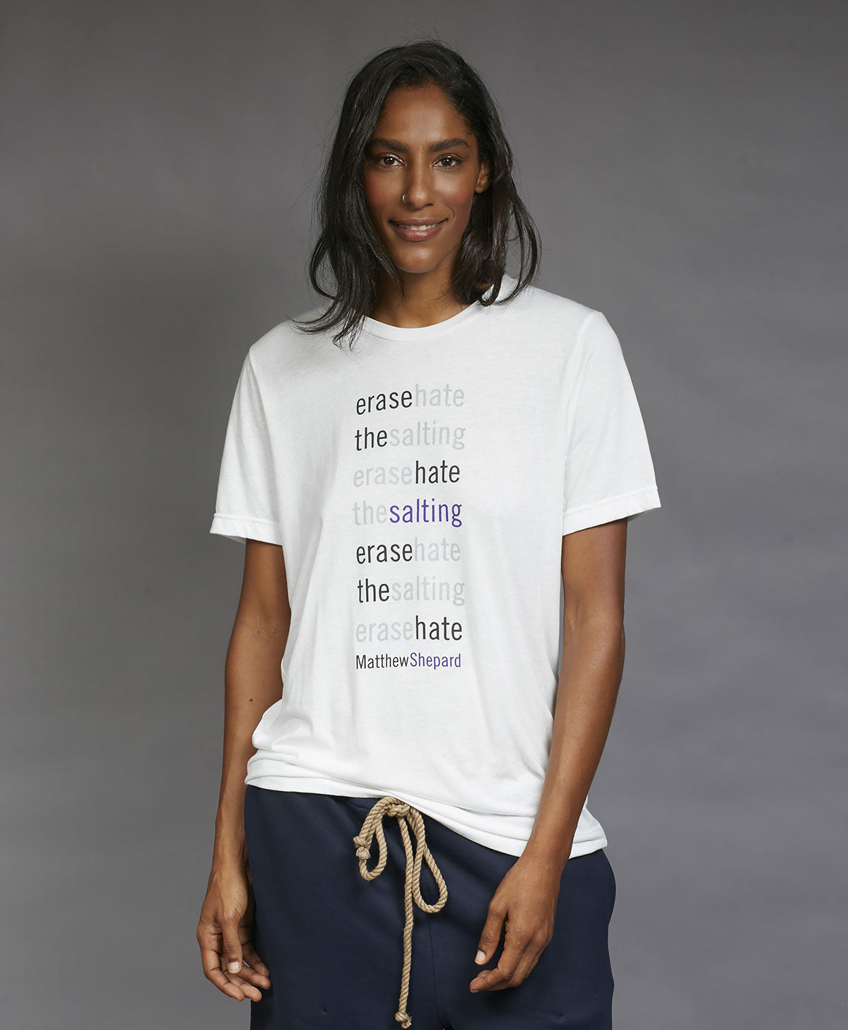 matthew shepard | erase hate t-shirt