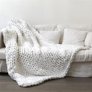 Sasquatch - Chunky Knit Blanket - Dreamly Decor