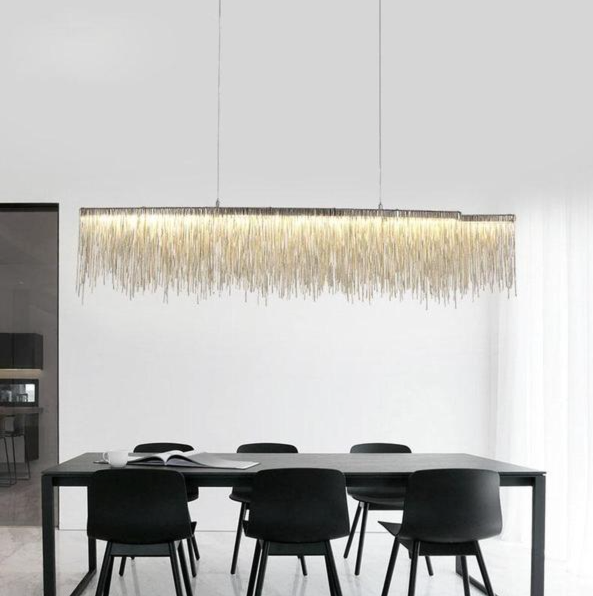 Clio - LED Light Rain Hanging Light - Dreamly Decor