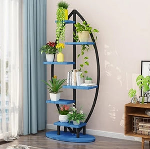 Alessia - Modern Art Deco Planter Display Shelves