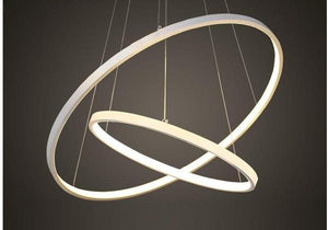Indoor Modern Circular Ring Chandelier - Luxury Modern Decor