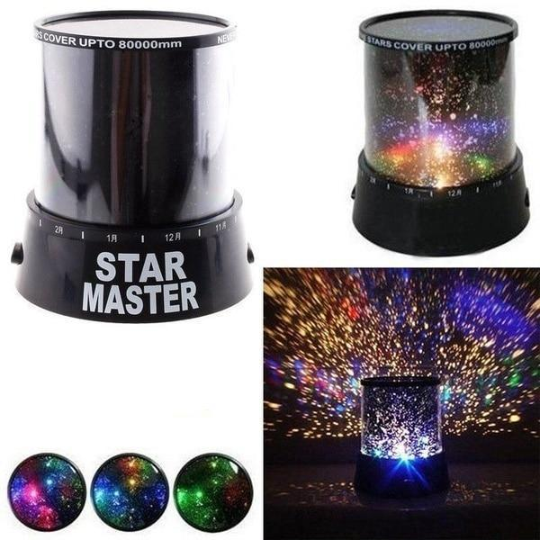 Cosmo Night Sky Projector Lamp - Dreamly Decor