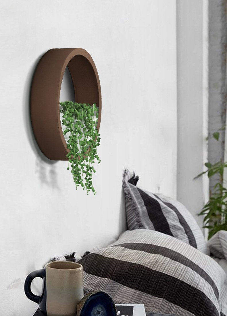 Lou - Modern Wall Planter Vase - Luxury Modern Decor