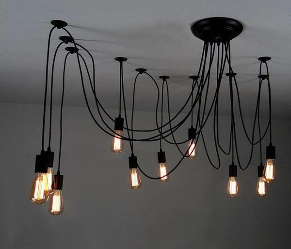 Modern Nordic Art Spider Chandelier - Dreamly Decor
