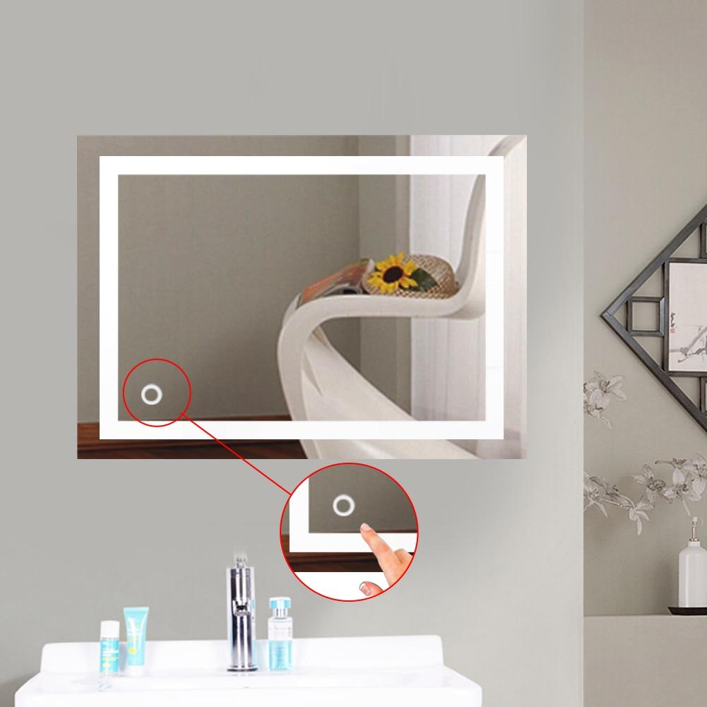 Jil - Wall Mount LED Vanity Mirror - Luxury Modern Decor