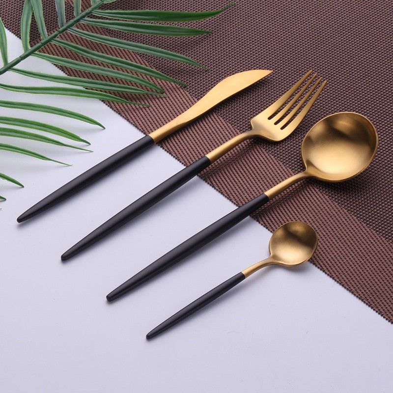 Gia - Flatware Set - Dreamly Decor