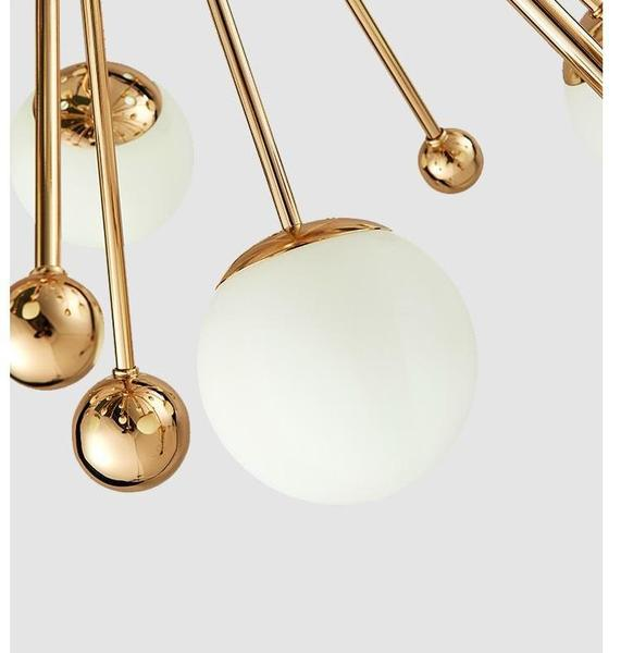 Ari - Modern Nordic Art Deco Chandelier - Dreamly Decor