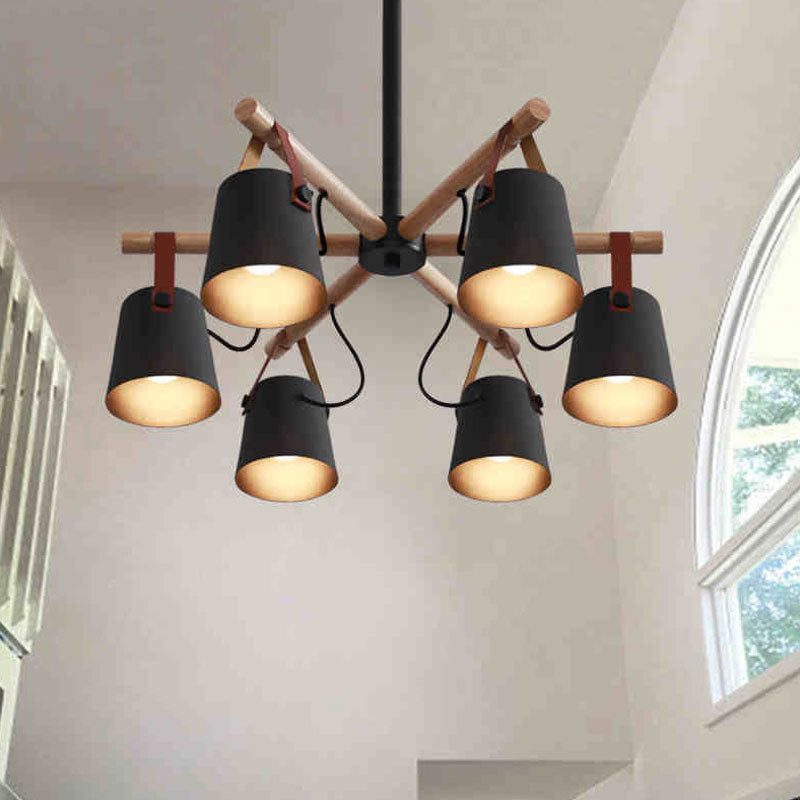 Soren - Nordic Drop Down Pendant Chandelier - Dreamly Decor