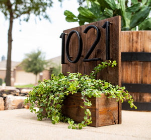 Modern House Numbers - Dreamly Decor