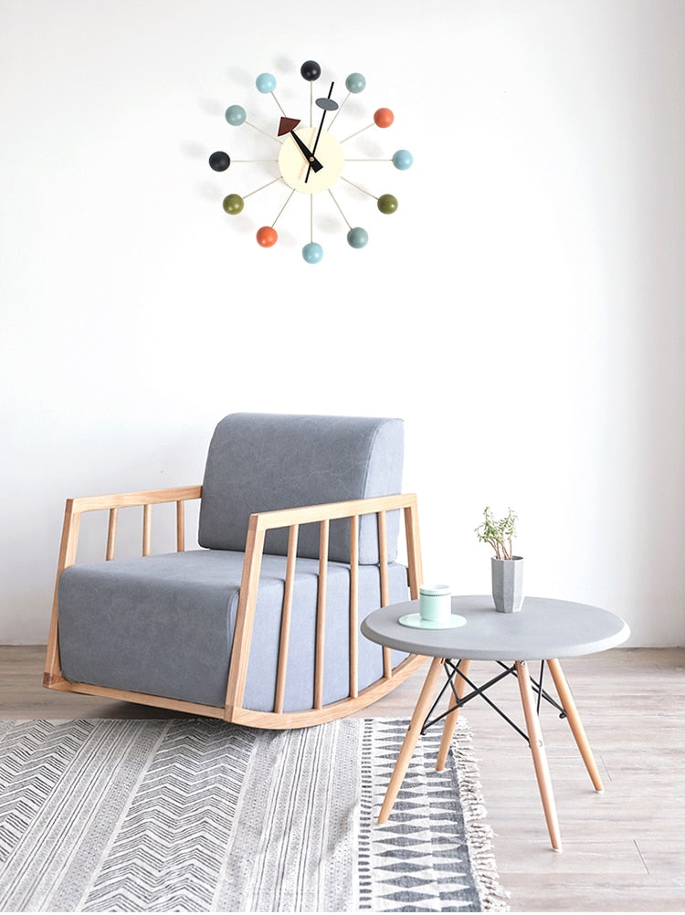 Neruda - Modern Nordic Wooden Clock - Luxury Modern Decor