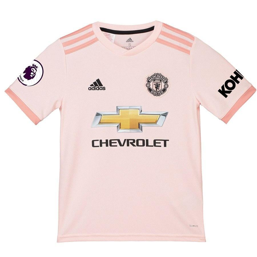 new arrival b7681 ddb00 Jesse Lingard Manchester United Youth 2018/19 Away Replica Player Jersey –  Coral