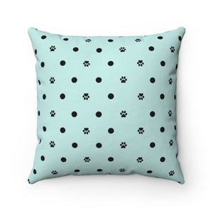 Paw Prints Pawka-dots Pillow Case